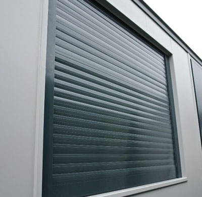 High security window shutters